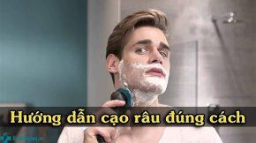 Cách cạo râu