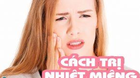 chữa nhiệt miệng nhanh nhất