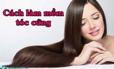 Cách làm mềm tóc cứng