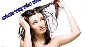 Cách trị tóc dầu