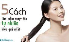 Cách làm tóc mềm mượt
