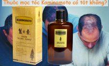 Thuốc mọc tóc Kaminomoto có tốt không