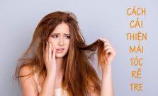 Cách cải thiện mái tóc rễ tre