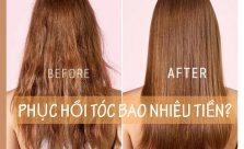 Phục hồi tóc bao nhiêu tiền